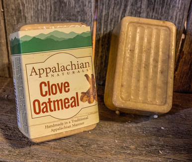 Clove and Oatmeal Appalachian Natural Soap