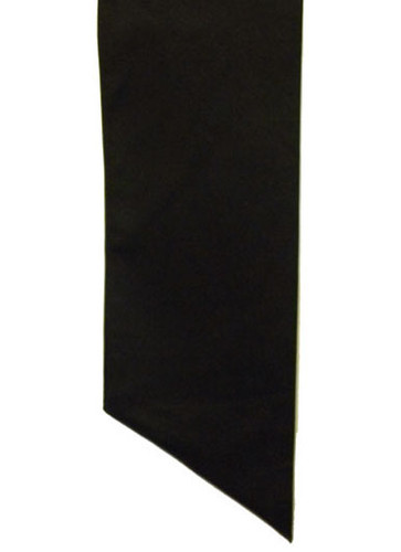 The Black sash is part of the regulation uniform. On it, you'll display your Adventist Youth class patches and pins, honors earned, and commemorative patches.  Measure from shoulder to opposite hip below the belt line.