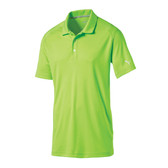 MENS PUMA ESSENTIAL POUNCE POLO GREEN GECKO