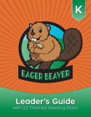 Welcome to the exciting world of Eager Beavers!  This guidebook is packed with resources to help you teach kindergarten-age children Christian principles and life skills, while engaging them in fun, creative play. In this step-by-step guide, you'll find helpful answers to the questions:  Who are Eager Beavers? Why do Eager Beavers act the way they do? How should leaders prepare for success and safety? What is included in the Eager Beaver program? You'll also discover that the easy-to-plan meetings fulfill all Eager Beaver program and chip requirements! This guide includes record sheets, check-off cards for wood chip requirements, crafts and games, and much more.  Ready—Set—Go! The children in your church and community are ready to be Eager Beavers!  Copyright 2016. Spiral bound.