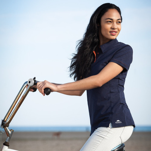 WOMENS STILLWATER ROOTS73 SS POLO