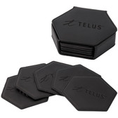 HEXAGON SHAPED COASTER SET