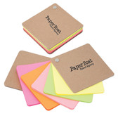 RECYCLED CARDBOARD PIVOT PAD – NEON COLOURS