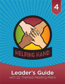 Welcome to the exciting world of Helping Hands!  The Helping Hand Leader's Guide is packed with resources to help you teach fourth graders Christian principles and life skills while engaging them in fun, creative play. In this step-by-step guide, you'll find helpful answers to the questions:  Who are Helping Hands? Why do Helping Hands act the way they do? How should leaders prepare for success and safety? How can I include Helping Hands with disabilities? What is included in the Helping Hand program? This leader's guide also includes complete instructions for 22 themed meetings that fulfill all Helping Hand program and award requirements. Each meeting includes a list of materials and resources, along with crafts, games, songs, and educational activities that support the theme.