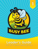 Welcome to the exciting world of Busy Bees!  The Busy Bee Leader's Guide is packed with resources to help you teach first graders Christian principles and life skills while engaging them in fun, creative play. In this step-by-step guide, you'll find helpful answers to the questions:  Who are Busy Bees? Why do Busy Bees act the way they do? How should leaders prepare for success and safety? How can I include Busy Bees with disabilities? What is included in the Busy Bee program? This leader's guide also includes complete instructions for 22 themed meetings that fulfill all Busy Bee program and award requirements. Each meeting includes a list of materials and resources, along with crafts, games, songs, and educational activities that support the theme.