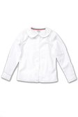 Adventurer Boy's Long Sleeve White Uniform Shirt White