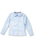 Adventurer Boy's Long Sleeve Blue Uniform Shirt