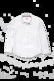 Adventurer Boy's Long Sleeve White Uniform Shirt