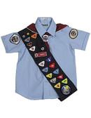 Adventurer Boys Light Blue Type A Short Sleeve Shirt