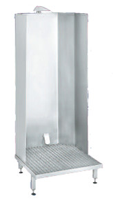APRON WASH CABINET - with auto valve