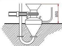 Pneumatic Blow line Gun 500 liters max/ Cycle