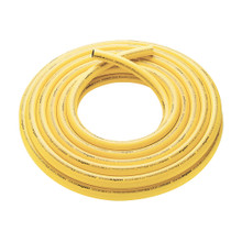 "Food Processing Wash Hose  - 1"", Microban, Yellow, / M"