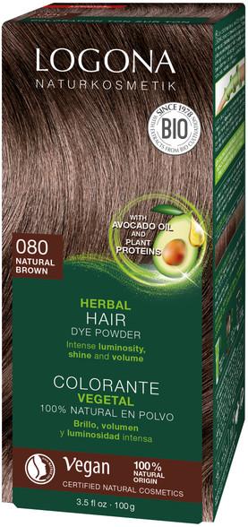 Pure Natural Colour Powder Natural Brown