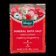 Hugs & Kisses  Bath Salt Raspberry & Lingonberry - travel size