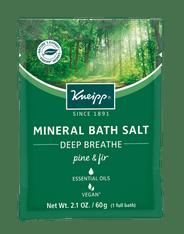 Deep Breath Bath Salt Pine & Fir - travel size