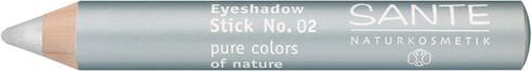 Eyeshadow Stick (Wood) 02   silver