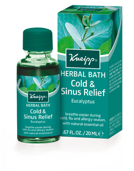 Good Health Herbal Bath Oil Eucalyptus - travel size