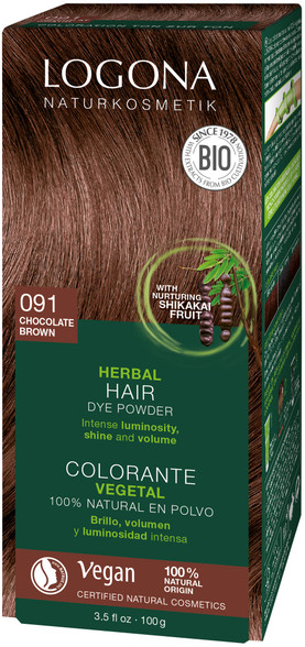Pure Natural Colour Powder Chocolate Brown