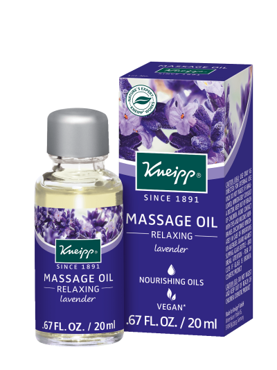 Relaxing Massage Oil Lavender