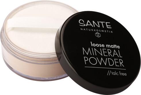 Loose matte Mineral Powder talc free sand 02