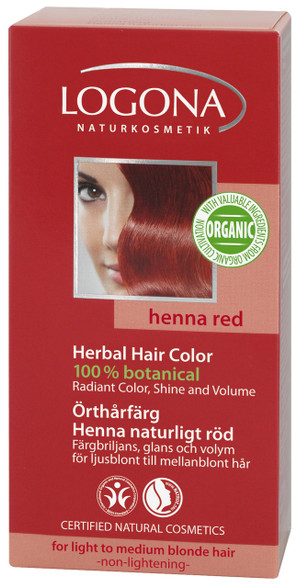 Pure Natural Colour Powder Henna Red