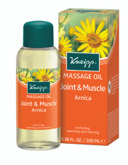 18 Warming Massage Oil Arnica & Ginger