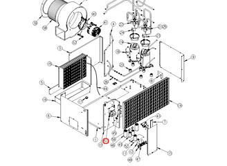 Coleman Air Conditioner Control Board 6535C3209 (Fits 46515/ 6535/ 6536 )