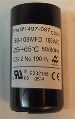 Coleman Air Conditioner Start Capacitor 1497-0871