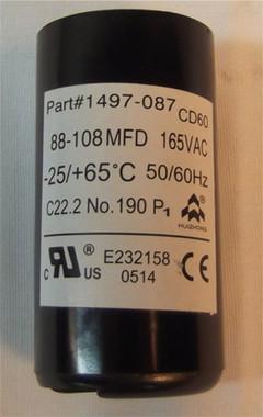 Coleman Air Conditioner Start Capacitor 1497-0871