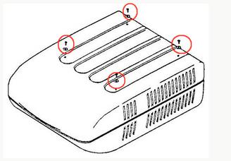 Coleman Air Conditioner Shroud Mounting Screw 6792-5111