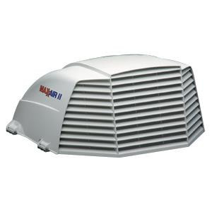 Maxxair II Roof Vent Cover in White (vented on three sides)