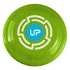 "9"" Promotional Frisbee, Custom Printed Flying Disk Toys - Lime Green"