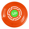 "9"" Promotional Frisbee, Custom Printed Flying Disk Toys - Orange"