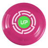 "9"" Promotional Frisbee, Custom Printed Flying Disk Toys - Raspberry"