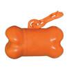 Bone Shaped Pet Waste Bag Dispensers - Orange