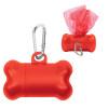 Bone Dog Waste Bag Dispensers, Custom Printed - Red