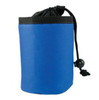 Full Color Promotional Dog Training Treat Bags w/Drawstring - Blue