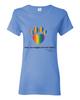 Have You Hugged Your Pet, Multi - Ladies T-Shirt - Carolina Blue