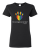 Have You Hugged Your Pet, Multi - Ladies T-Shirt - Black