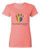Have You Hugged Your Pet, Multi - Ladies T-Shirt - Coral Silk
