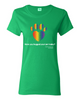 Have You Hugged Your Pet, Multi - Ladies T-Shirt - Irish Green