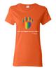 Have You Hugged Your Pet, Multi - Ladies T-Shirt - Orange