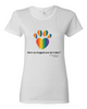 Have You Hugged Your Pet, Multi - Ladies T-Shirt - White