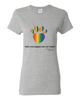 Have You Hugged Your Pet, Multi - Ladies T-Shirt - Sport Grey