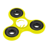 Fidget Spinners with Promotional Imprint - Yellow