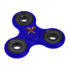 Fidget Spinners with Promotional Imprint - Blue