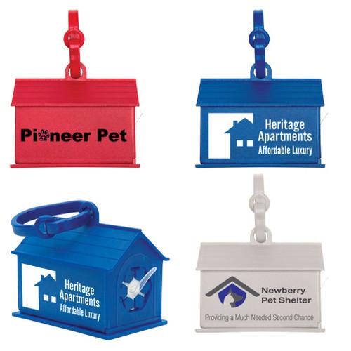 Dog House Promotional Waste Bag Dispensers