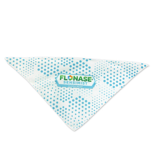 Full Color Sublimated Bandanas for Small Dogs