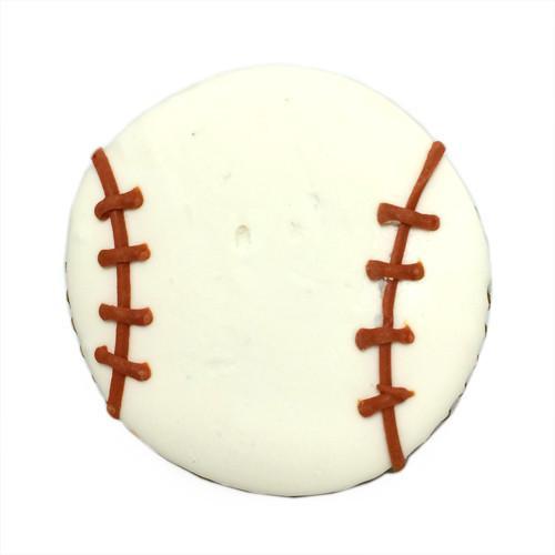 Baseball Dog Treats, Organic Peanut Butter (Case of 12)
