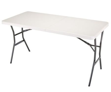 5 Bi Fold Portable Vendor Display Table With Carry Handle